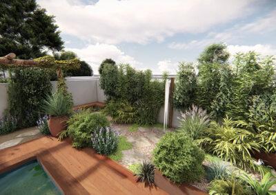 Grand jardin pavillonaire
