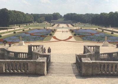 Parterre des boulingrins du jardin de Vaux-le-Vicomte