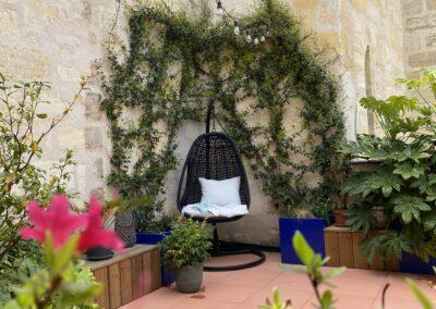 Terrasse privée – Bordeaux